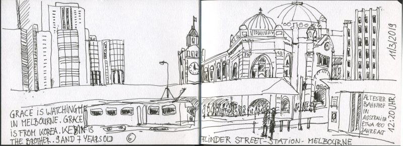05 Melbourne - Flinder Street Station