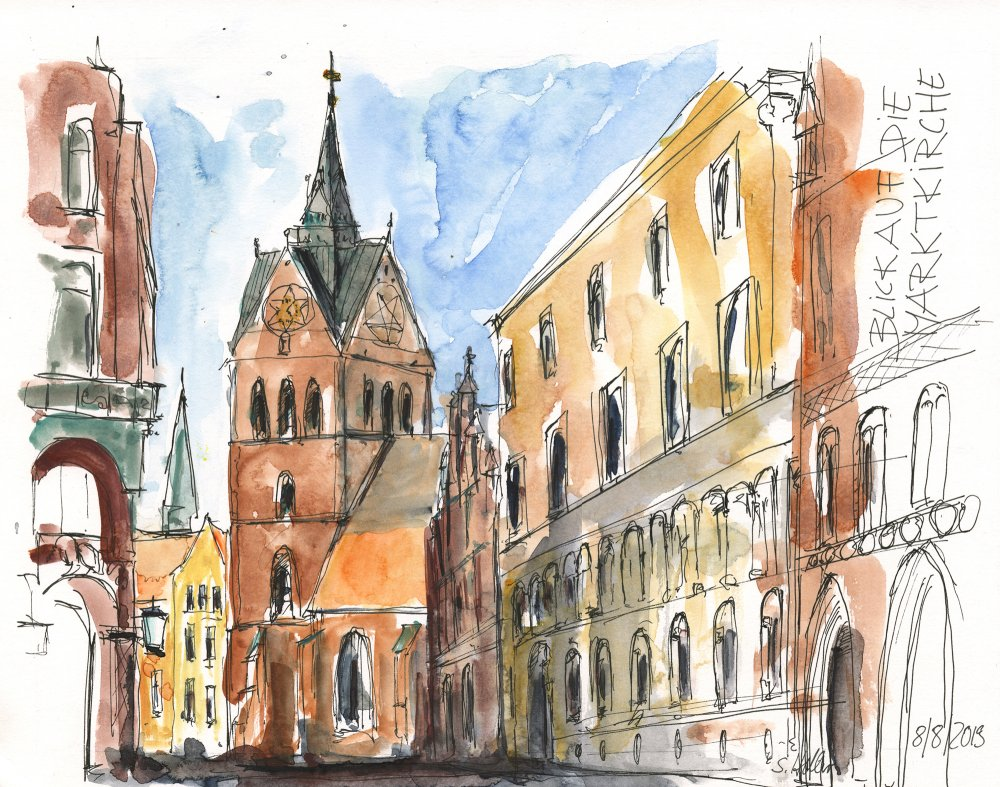 Marktkirche Heller Grafikdesign - Sybille Heller